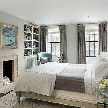 Gray French Bed