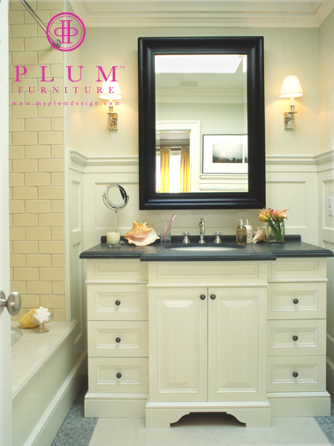 Cream bathroom vanity design ideas for Bathroom bathroom bathroom