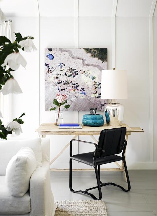Living Room Desk - Contemporary - living room - Jeffrey Alan Marks
