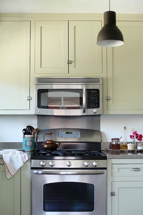 Khaki Kitchen Cabinets Transitional Kitchen Design
