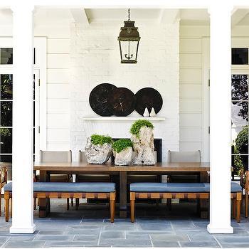 Outdoor Fireplace, Transitional, deck/patio, Jeffrey Alan Marks