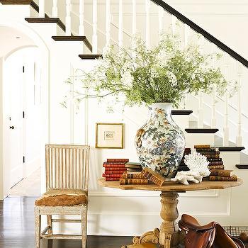 Foyer Table Ideas, Cottage, entrance/foyer, Jeffrey Alan Marks