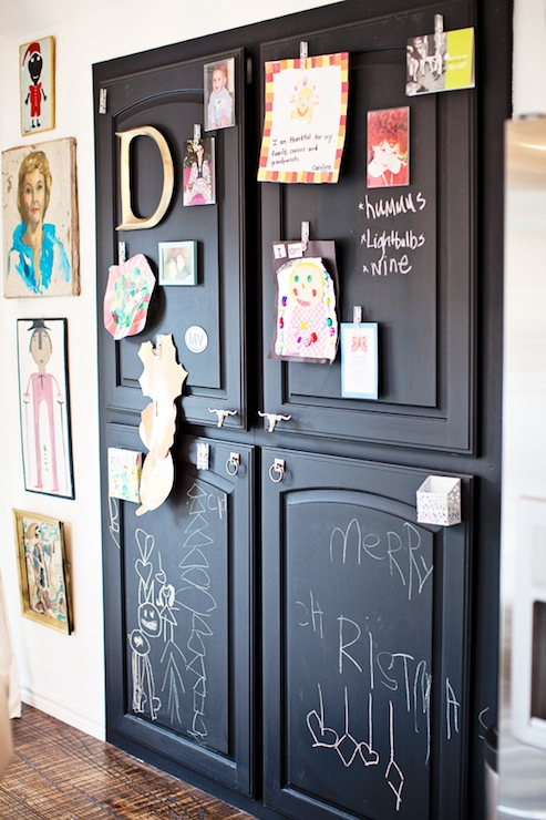 Chalkboard Doors Design Ideas