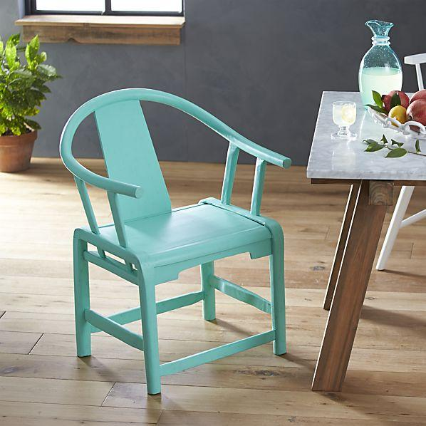 Riviera Green Ming Asian Chair