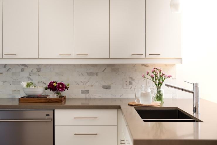 White Frameless Cabinets Design Ideas