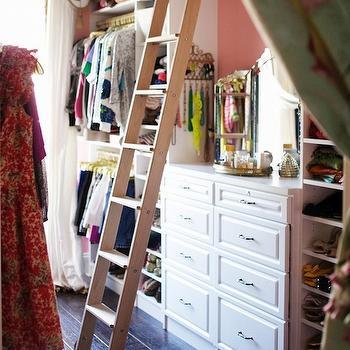 Closet Ladder, Eclectic, closet