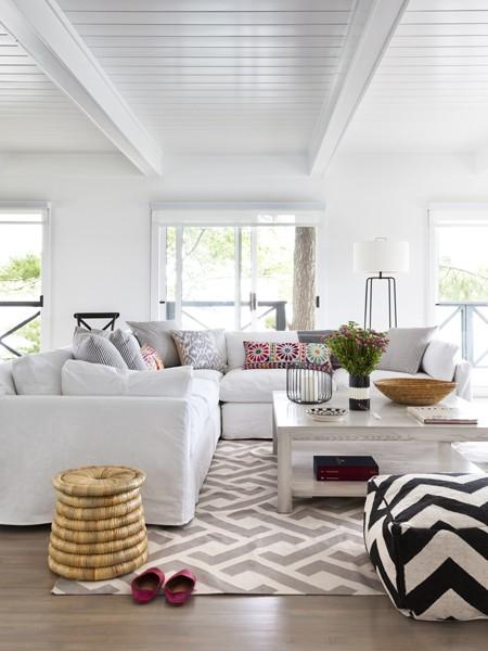 Slipcover Sectional Cottage Living Room Lloyd Ralphs