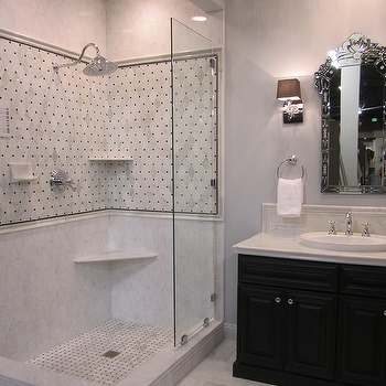 Shower Shelves, Traditional, bathroom, Kirsty Froelich