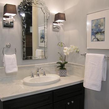 Venetian Mirror, Traditional, bathroom, Kirsty Froelich