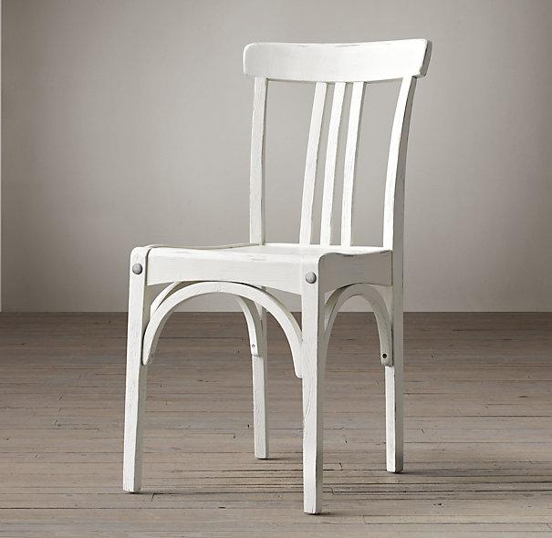White Wood Sinclair Chair - Wood Sinclair Chair