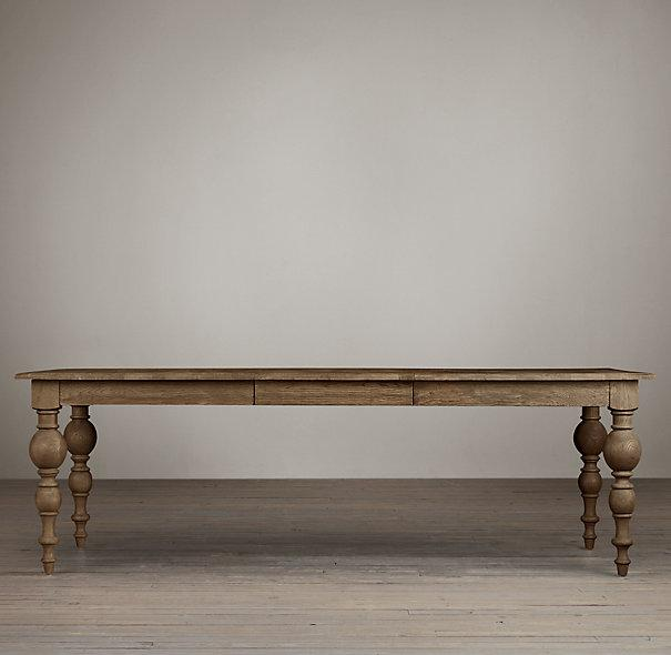 Weathered Gray Romeo Dining Table World Market - Weathered dining table