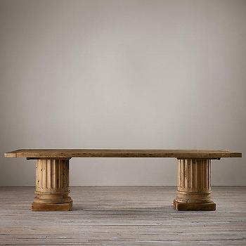 Z Gallerie Archer Round Dining Table