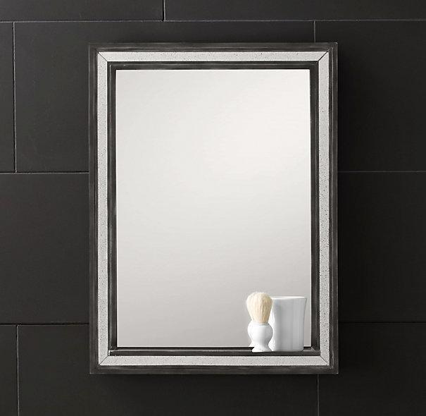 Strand Mirror With Tray I Restoration Hardware