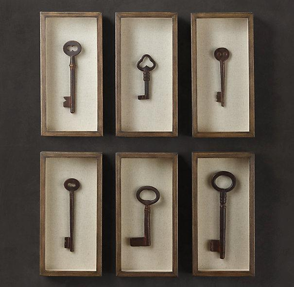 Key Shadow Box Collection