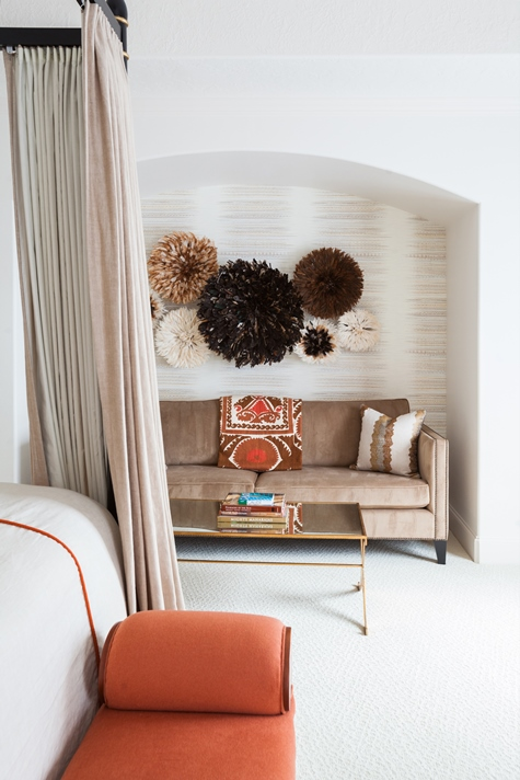 Juju hats transitional bedroom laura u interior design for Laura u interior design