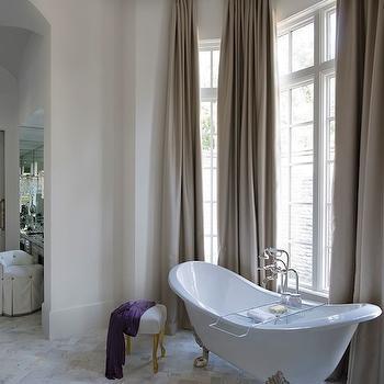 Bathroom with high Ceiling, Transitional Bathroom, Thompson Custom Homes