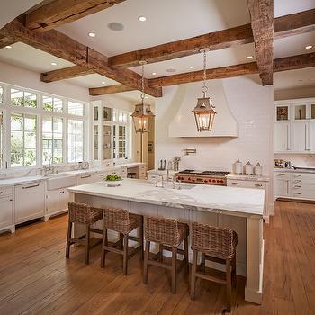 Seagrass Bar Stools, Transitional, kitchen, Thompson Custom Homes