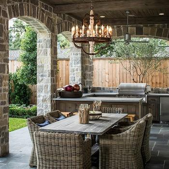 Outdoor KItchen, Transitional, deck/patio, Thompson Custom Homes