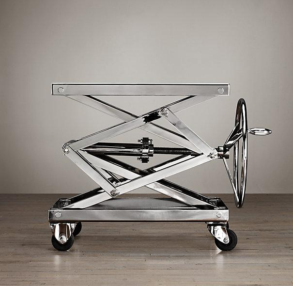 Stainless Steel Industrial Scissor Lift Table