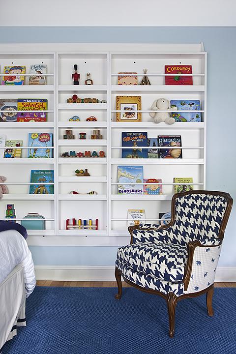 Kids Bookcase Contemporary Boy S Room Mona Ross