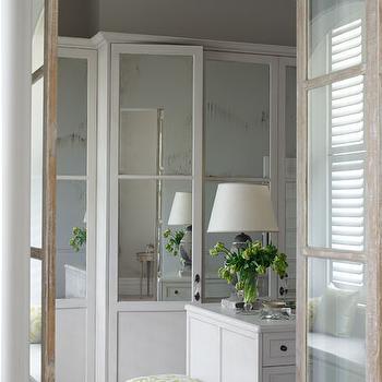 Mirrored Doors