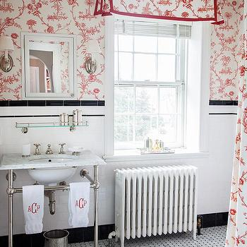 Girl's Bathroom Ideas, Traditional, bathroom, Mona Ross Berman Interiors