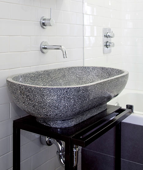 Terrazzo Sink Modern Bathroom The Brooklyn Home Company