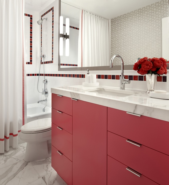 Red Washstand