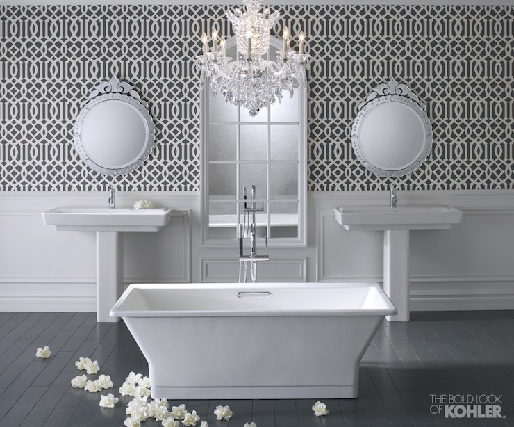Kohler Reve Freestanding Bath - Contemporary - bathroom - Kohler