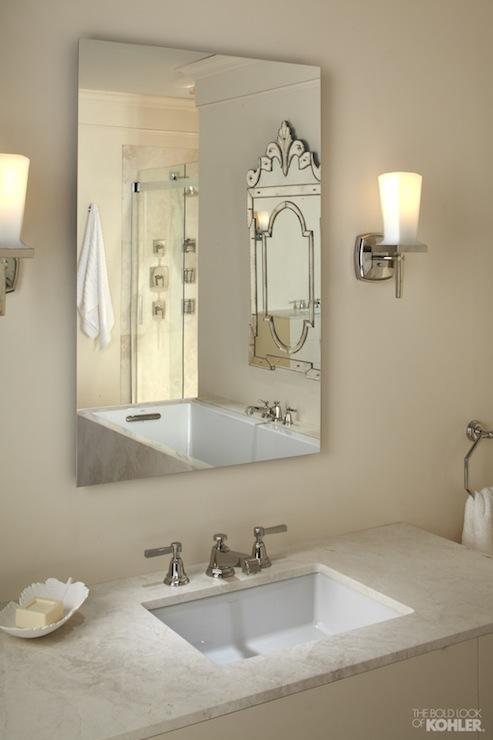 Kohler Pinstripe Faucet - Transitional - bathroom - Kohler