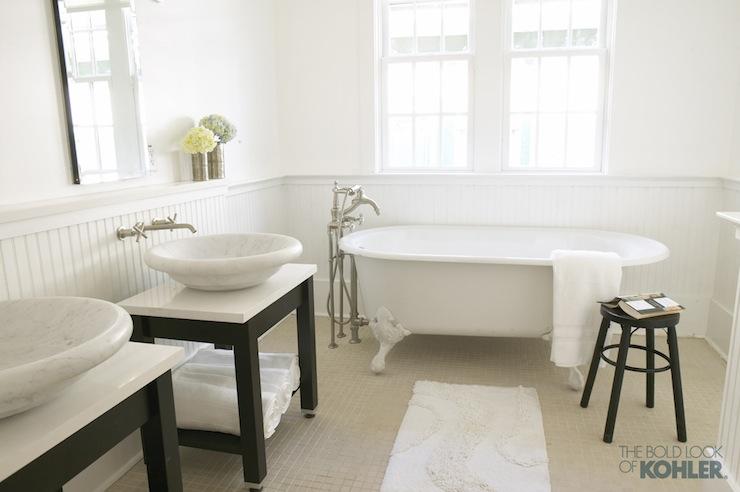 Kohler Botticelli Vessel Sink Cottage Bathroom Kohler