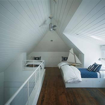 Attic Kids Room, Cottage, bedroom, Suzanne Lovell