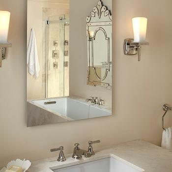 Kohler Pinstripe Faucet, Transitional, bathroom, Kohler