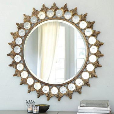 Z gallerie versailles mirror look 4 less for Decorative mirrors for less