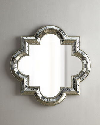 Horchow quatrefoil mirror look 4 less for Decorative mirrors for less