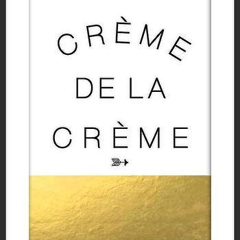Creme De La Creme I By Luciana