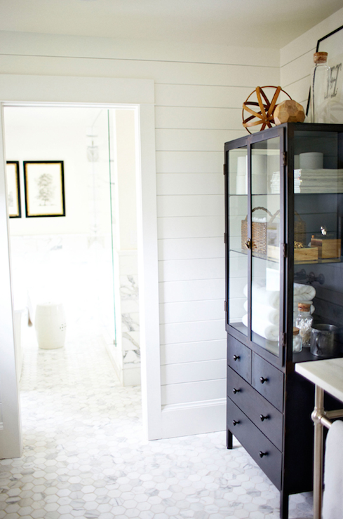 Vintage Apothecary Cabinet & Vintage Apothecary Cabinet - Cottage - bathroom - H2 Design and Build