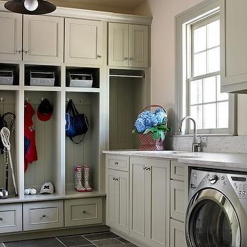 Mudroom in Laundry Room, Transitional, laundry room, Tillman Long Interiors