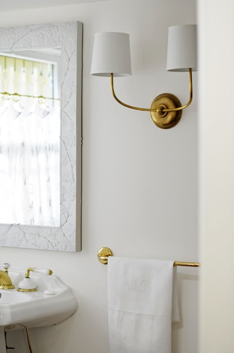 Vendome Double Sconce Transitional Bathroom Ore Studios