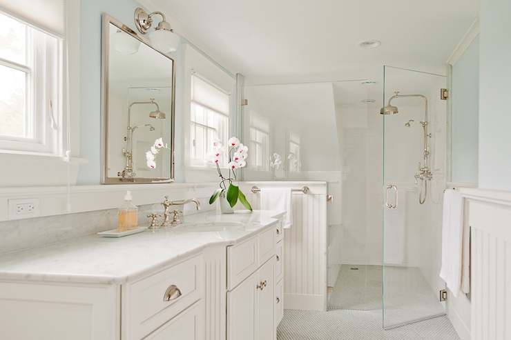 Walk In Shower Ideas Transitional Bathroom D Thomas Scott