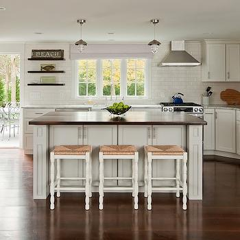 Seagrass Bar Stools Cottage Kitchen Milk And Honey Home