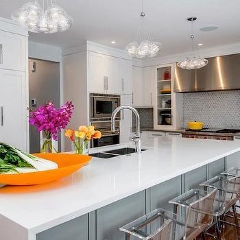 Acrylic Counter Stools, Contemporary, kitchen, Atmosphere Interior Design
