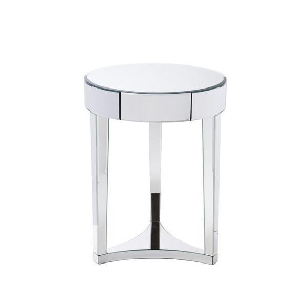 Sierra Spy Round Mirror Side Table View Full Size