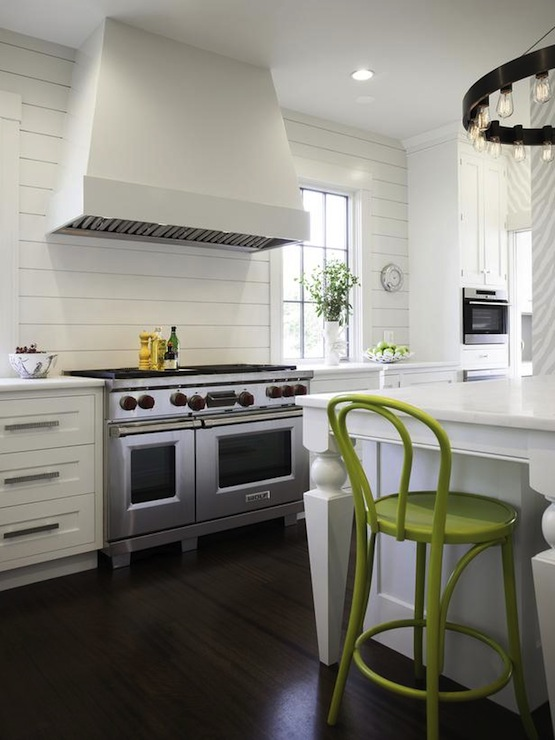 Zebra Bar Stools Contemporary kitchen Lonni Paul Design