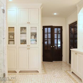Built In Linen Cabinets, Transitional, bathroom, M. E. Beck Design