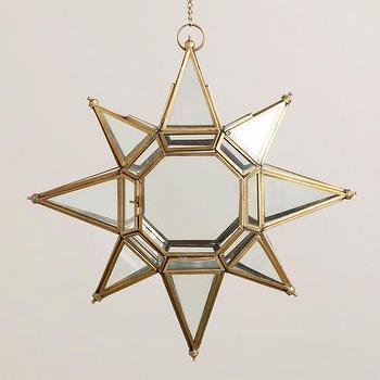 Large Clear Star Lantern, World Market