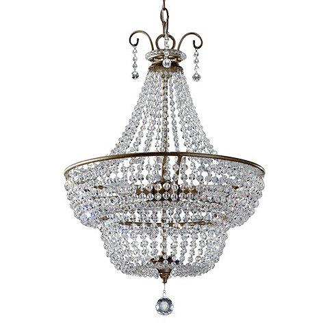 Marguerite 3-Light Beaded Crystal Chandelier
