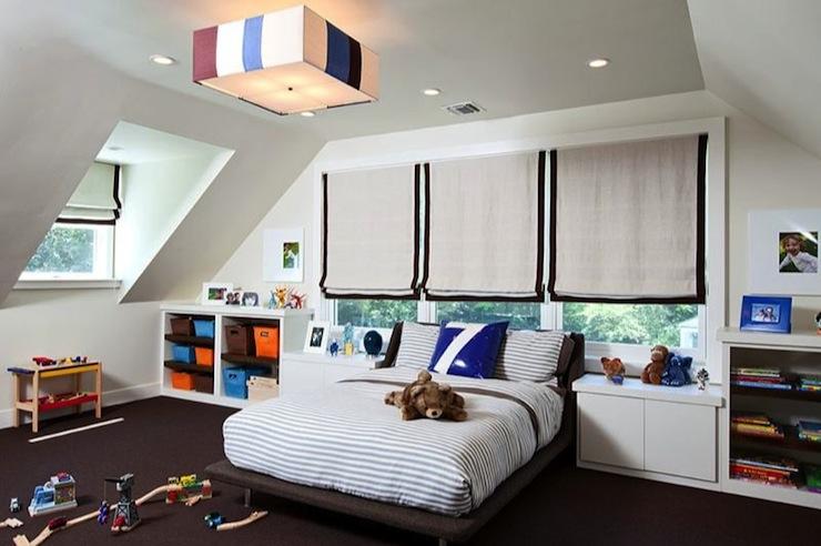 Kids Storage Ideas - Contemporary - boy\'s room - Melanie Morris Design