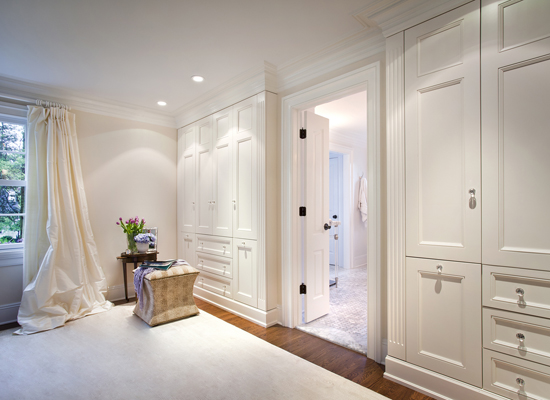 Floor To Ceiling Closets Transitional Bedroom Susan Obercian Design