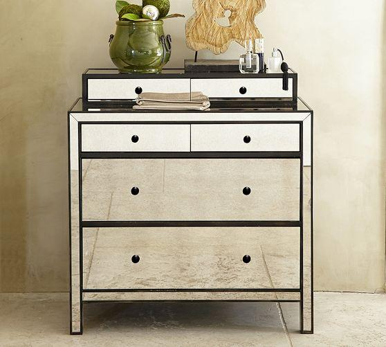 Marnie Mirrored 6 Drawers Dresser